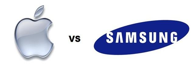 Apple-vs-Samsung-logo-proces