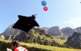 Base jump : la meilleure vidéo de vol en Wingsuit du net