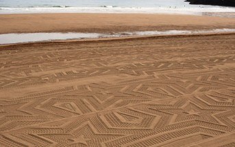 Gunilla Klingberg emmène l'art à la plage