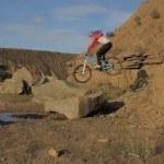Chris Akrigg : Through the mill [vidéo VTT enduro trial] photo04