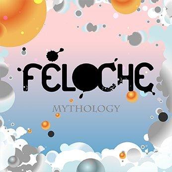 Pochette (Cover) du nouvel album (EP 4 titres) de Féloche : MYTHOLOGY.