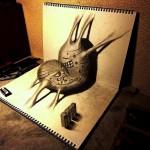 nagaihi-deyuki-art-illusion-perspective-dessin-croquis-3d-japonais