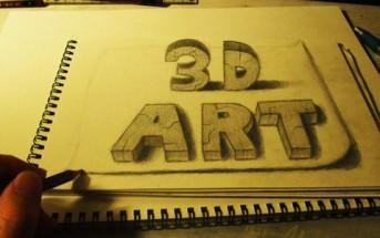 Nagai Hideyuki : l'art de l'illusion 3D en dessin