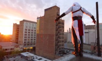 Assassin's Creed : parkour de freerun en réel par Ronnie Shalvis