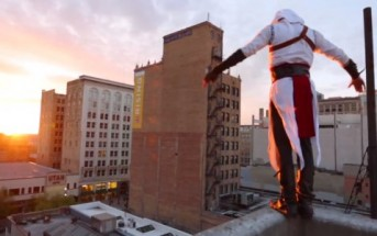 Assassin's Creed : parkour en réel par Ronnie Shalvis [freerun]