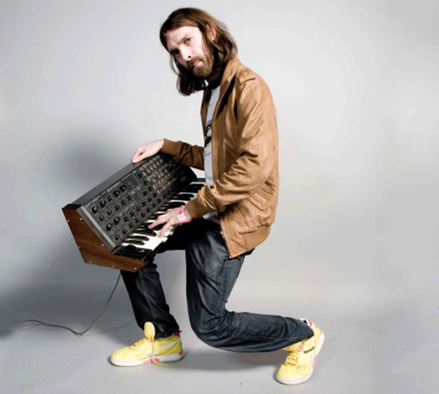 Breakbot : photo de Thibaut Berland artiste électro Ed Banger Records
