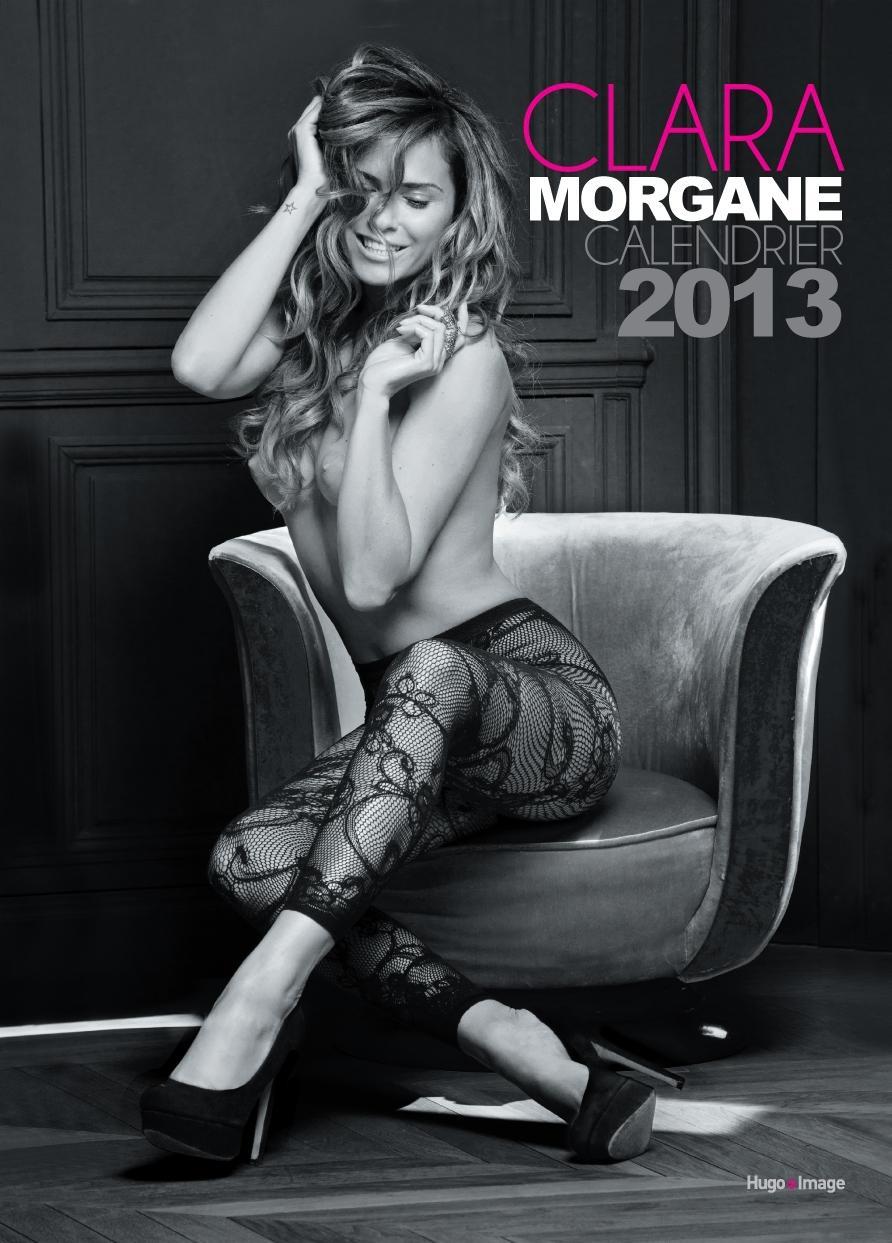 Couverture calendrier 2013 Clara Morgane