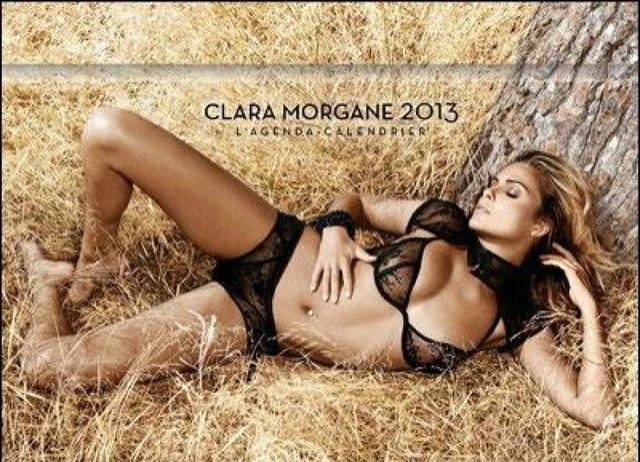 Clara Morgane, couverture agenda calendrier sexy 2013