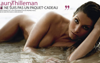Laury Thilleman nue dans Paris Match : scandale chez Miss France