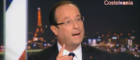 """François Hollande, le président normal qui chante Super Mario. Parodie humour """"par part"""""""