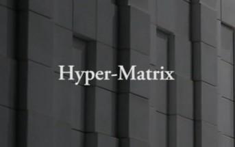 Hyper-Matrix : art numérique pour Hyundai par Jonpasang