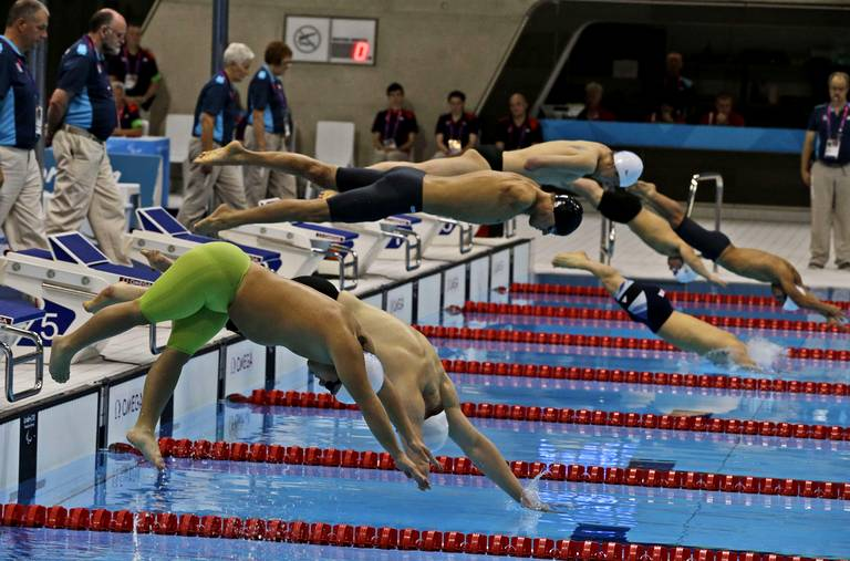 200m 4 nages catégorie SM6.
