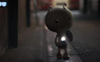 Little Kaiju, mignonne créature perdue dans les rues de Tokyo