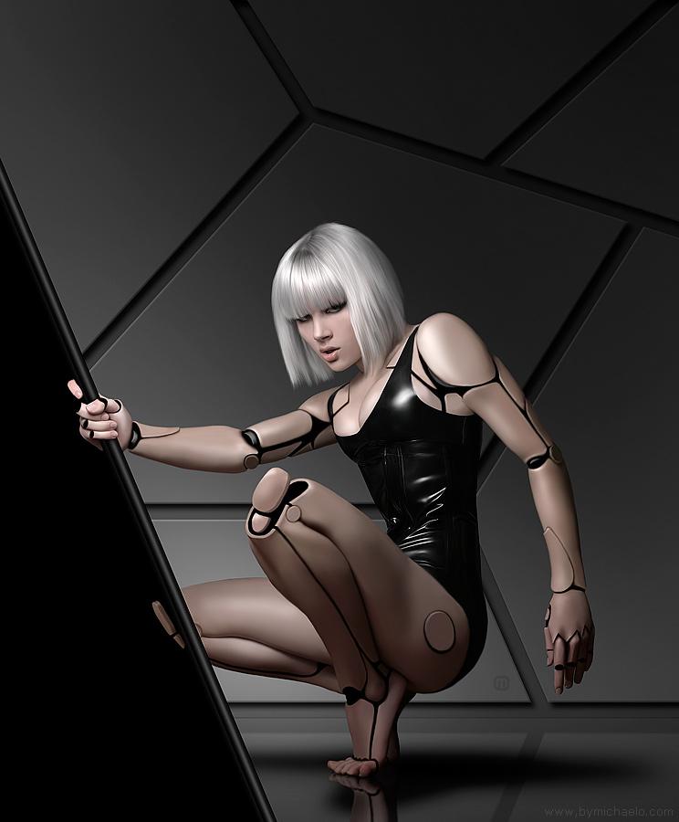 Femme bionique AmalgaMATE2 par michaelo.