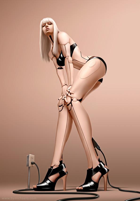 Femme bionique AmalgaMATE3 par michaelo.
