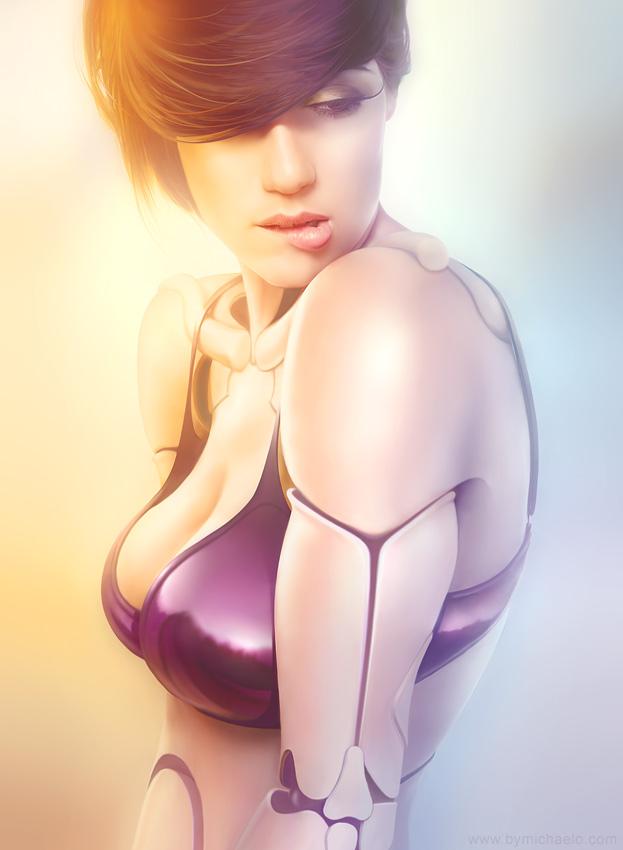 Femme bionique AmalgaMATE5 par michaelo.