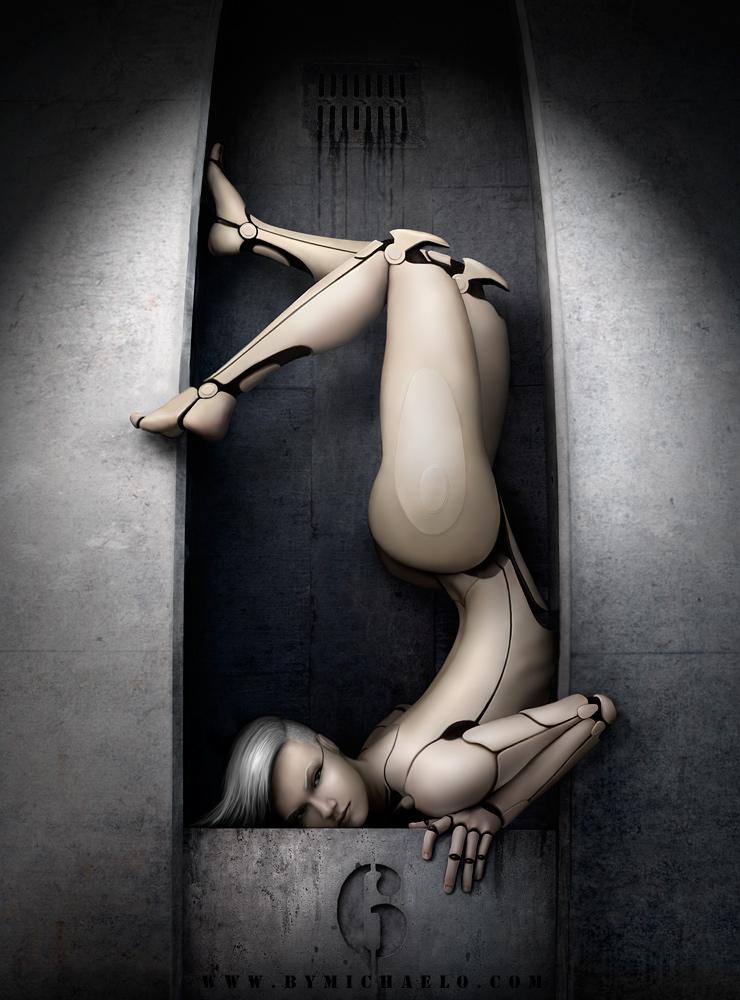 Femme bionique AmalgaMATE6 par michaelo.