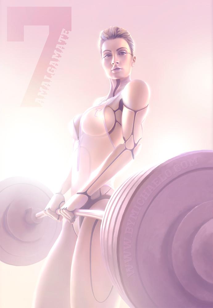 Femme bionique AmalgaMATE7 par michaelo.
