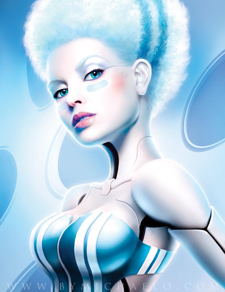 Femme bionique dexteria par michaelo.