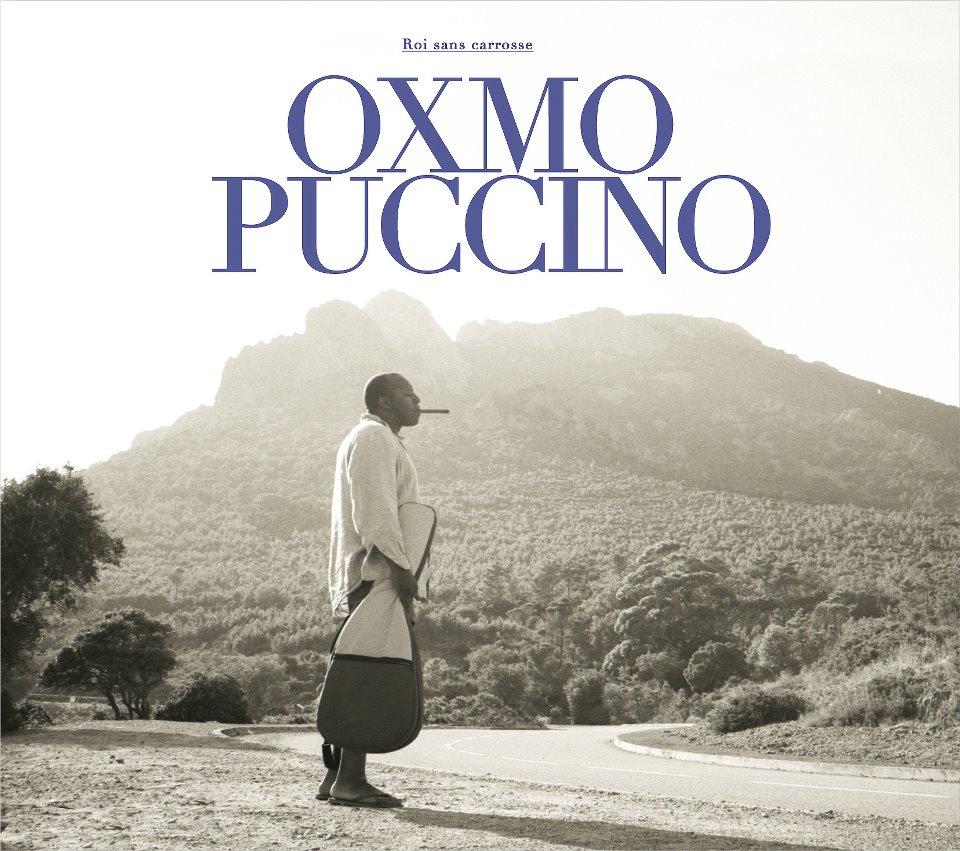 """oxmo puccino, pochette de l'album """"roi sans carosse"""" (cover)"""