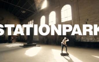 STATIONPARK : Kilian Martin joue des claquettes en skate