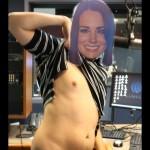 Tétons à l'air pour Kate : les anglais posent seins nus pour soutenir Kate Middleton 01