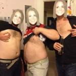Tétons à l'air pour Kate : les anglais posent seins nus pour soutenir Kate Middleton 02