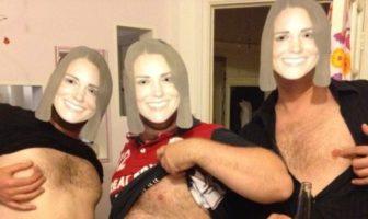 Tétons à l'air pour Kate : les anglais posent seins nus pour soutenir Kate Middleton cover