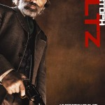 Django Unchained, affiche Officielle française avec Christoph Waltz. Nouveau film de Quentin Tarentino.