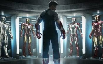 Iron Man 3, Tony Stark, Robert Downey Jr. affiche cover