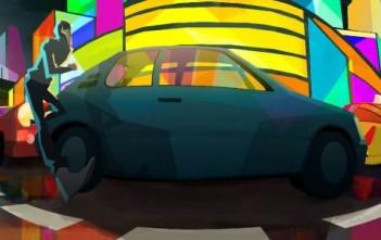 Arcane, court métrage d'animation cel-shading de Bastien Belvaux EMCA