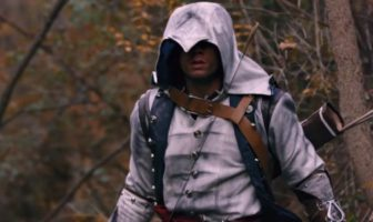 Assassin's Creed 3 : Rebel Blades. Fanfilm par Corridor Digital Connor en réel.