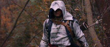 Assassin's Creed 3 : Rebel Blades. Fanfilm par Corridor Digital Connor en réel.
