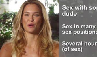 Bar Refaeli récolte des fonds sur Kickstarter pour faire une Sex Tape. Canular Funny od Die.
