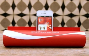 Coca-Cola FM transforme un magazine en amplificateur audio pour iPhone