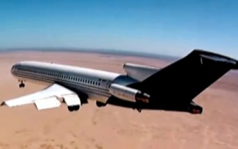 Vidéo d'un crash-test aérien au Mexique [Avion Boeing 727]