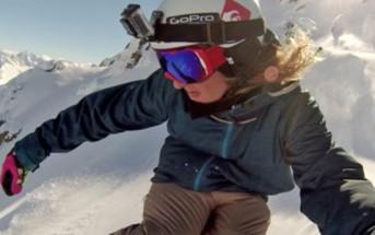 Superbe vidéo de sports extrêmes pour la GoPro HERO3 Black Edition