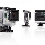 GoPro HERO3 Black Edition. Caméra embarquée HD avec sa coque de protection.