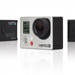 GoPro HERO3 Black Edition. Caméra embarquée HD sans sa coque de protection.