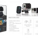 Spécifications de la GoPro HERO3 Black Edition. Caméra embarquée HD sports extrêmes.
