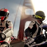 Moto sportbike ggb duo GoPro HERO3 Black Edition HD sports extrêmes.