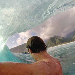 surf tube walsh barrel GoPro HERO3 Black Edition HD sports extrêmes.