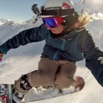 Snowboard Eric Spinny photo Caméra embarquée GoPro HERO3 Black Edition HD sports extrêmes.