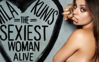 Mila Kunis élue femme vivante la plus sexy en 2012 par Esquire