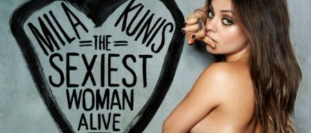 Mila Kunis élue femme vivante la plus sexy en 2012 par Esquire. Sexiest Woman Alive 2012.