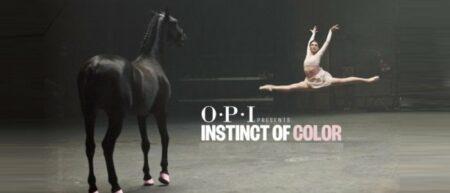 OPI Instinct Of Color : battle danseuses vs. cheval [verni à ongles]