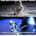 Parodie Red Bull Stratos. Détournement du saut de Felix Baumgartner depuis l'espace. Humour Neil Armstrong.