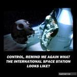 Parodie Red Bull Stratos. Détournement du saut de Felix Baumgartner depuis l'espace. Humour Star Wars.