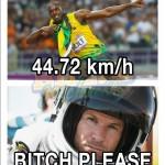 Parodie Red Bull Stratos. Détournement du saut de Felix Baumgartner depuis l'espace. Humour Usain Bolt.