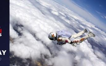 RedBull Stratos : rediffusion en intégralité [chute libre de l'espace]